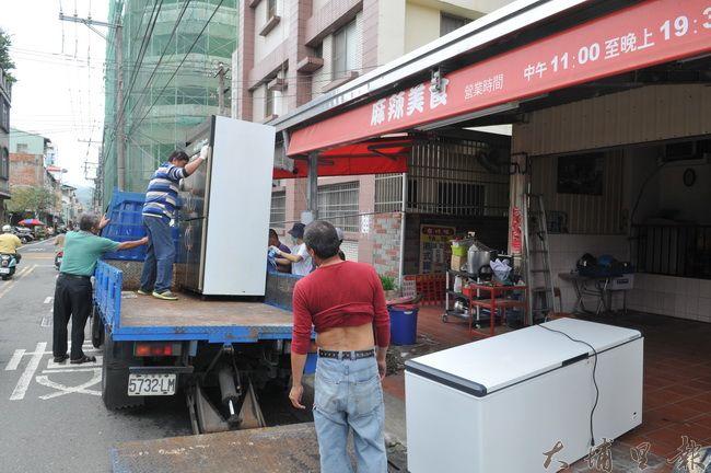 埔里鎮台川味麻辣美食搬遷至台中市營業,讓在地許多喜歡吃香喝辣的鎮民感到惋惜。(柏原祥 攝)