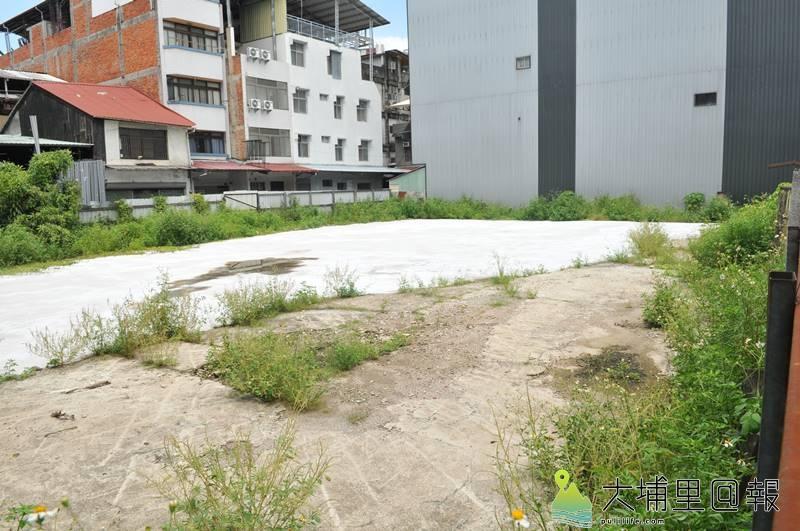 埔里鎮舊台電營運所將規劃為停車場,預計釋出35個汽車停車空間。(柏原祥 攝)