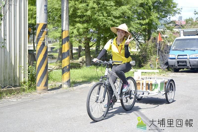 單車結合導覽,還能變身為特色餐車。