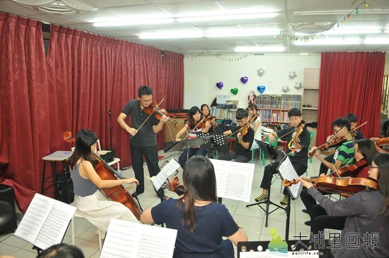 埔里Butterfly交響樂團將舉辦2017「與蝶共舞」音樂會,國台交小提琴首席張睿洲將領銜演出。(柏原祥 攝)