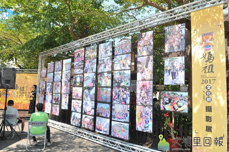 埔里天后宮舉辦環保遶境,並收集1600多件參賽攝影作品。(柏原祥 攝)