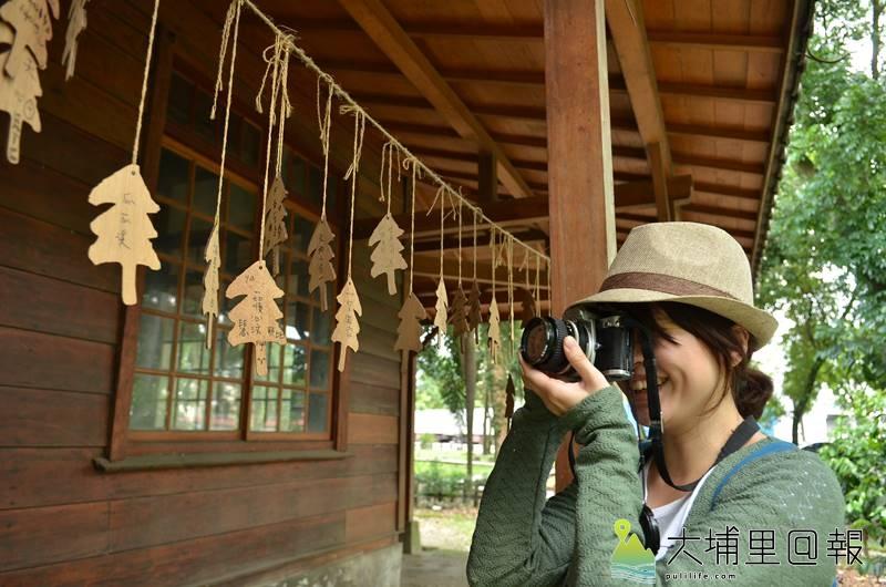 埔里演習林是地方觀光景點,但其歷史建物空間與北海道大學的連結卻少有人知。(柏原祥 攝)