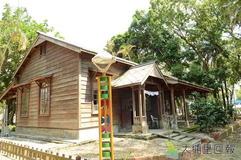 埔里演習林日式木造建築是歷史建物,但其與北海道大學之間的連結,台灣咖啡起源地的歷史卻少有人知。(柏原祥 攝)