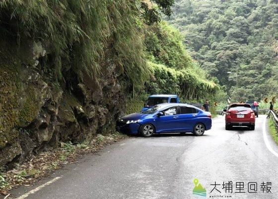 投131縣道牛洞隧道附近路段日前發生落石砸車,造成一名女駕駛當場喪命。