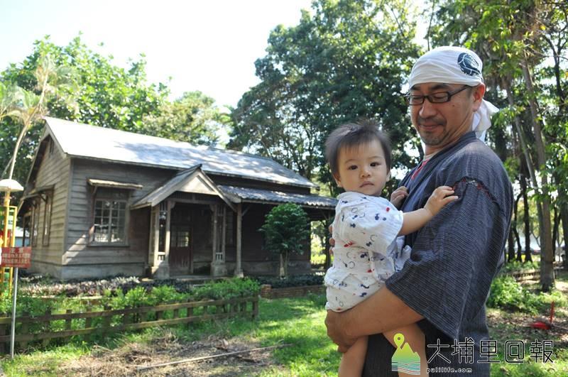 日籍埔里女婿菅 大志是北海道大學農學博士,來到埔里落地生根,對母校創立的中興大學演習林特別關心。(柏原祥 攝)