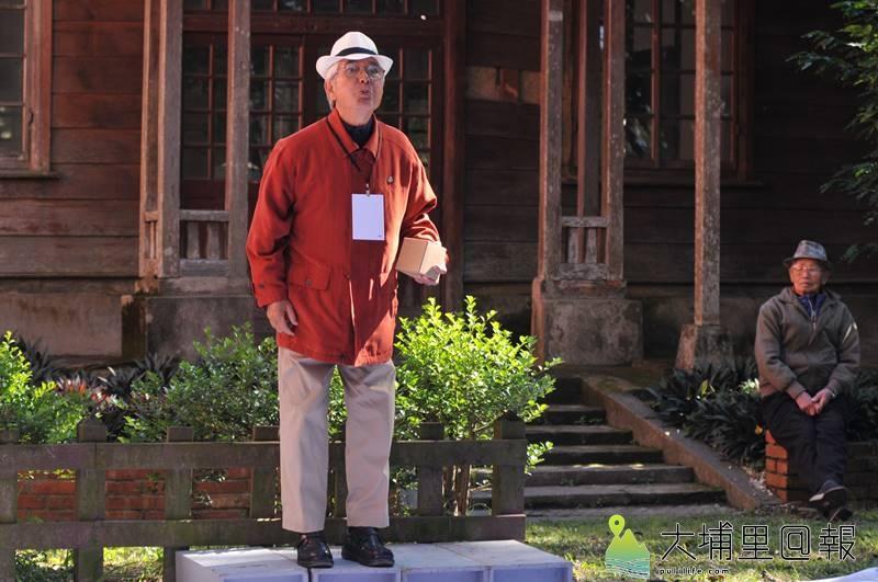第一屆水沙連咖啡節在埔里中興大學演習林舉辦,並舉辦首屆吐咖啡籽比賽。(柏原祥 攝)