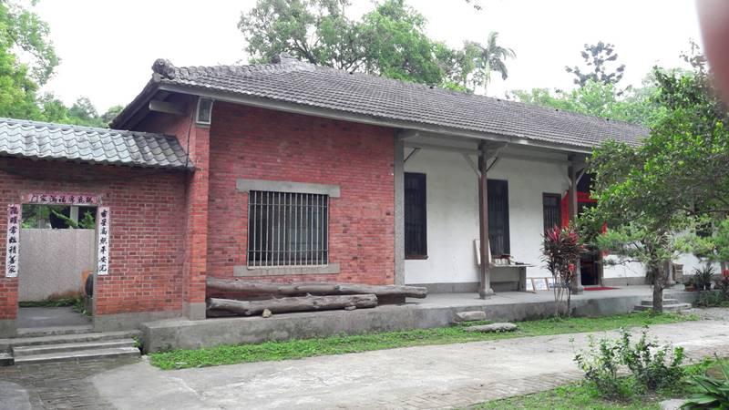 埔里林家古厝,是九二一地震後所保留的少數古屋之一。(林耀堂 提供)