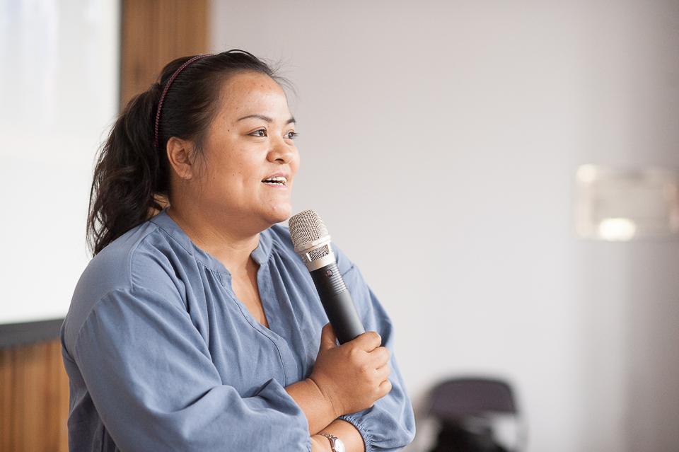 羅娜家托負責人方瑤珍認為,感受長者的思維與生命經驗是照顧服務的必要條件(張智凱攝)