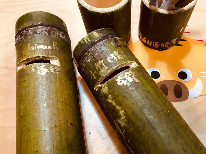 埔里逐燈祭活動的媒材,主要以竹、紙等自然材料打造。(圖/陳巨凱提供)