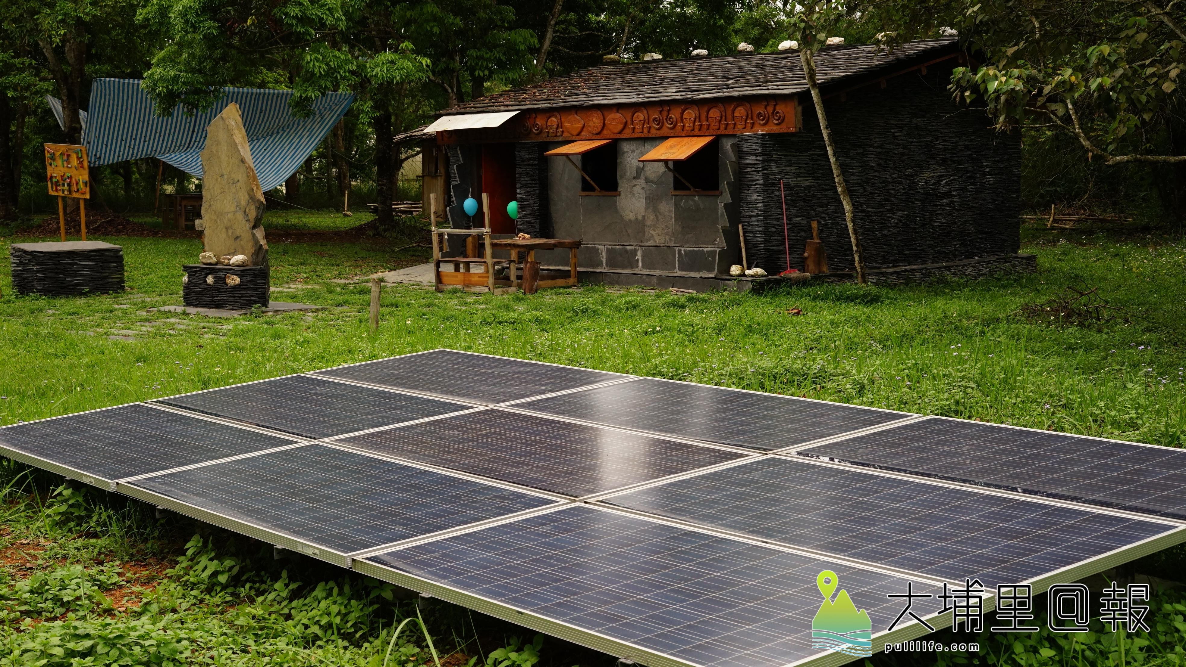 原住民本就是大自然的子民,取之自然,用之自然。現代太陽能發電也是同樣概念,都是以永續發展為立基的應用。(唐淑惠攝)