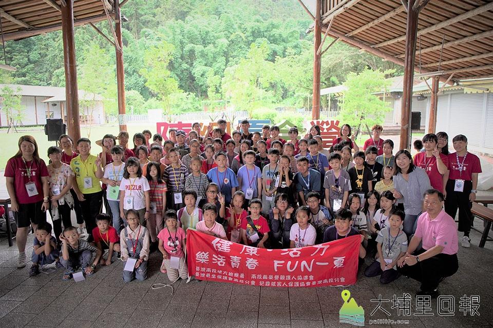 2019年陳綢夏令營在魚池鄉開幕