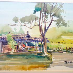 孫少英畫作在紙教堂藝廊展出,並舉行紀錄片募款活動。